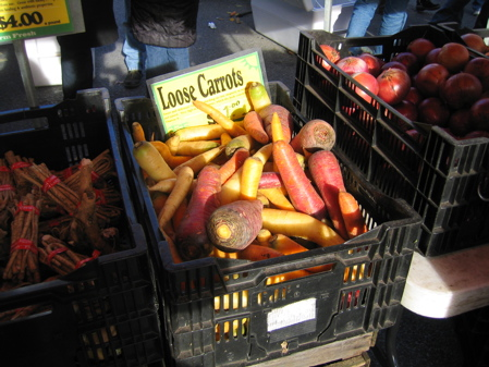 Mixed Carrots, Union Square Green Market