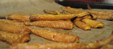Wrinkled Roasted Carrot