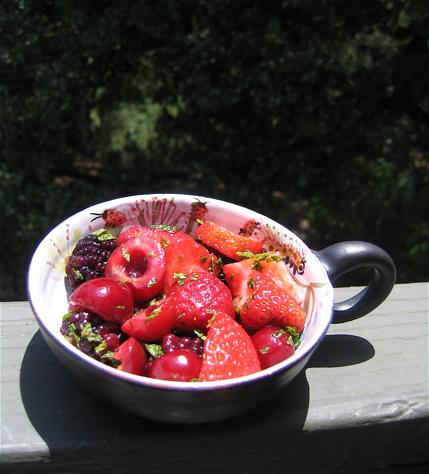 Simplest Summer Fruit Melange