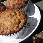 Oatmeal Summer Squash Muffins