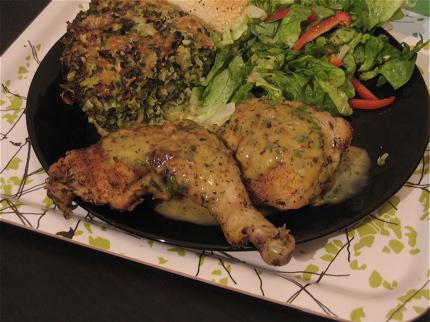 Poulet Sauté Aux Herbes de Provence