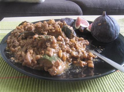 Oaxacan Pipian with Zucchini and Onions