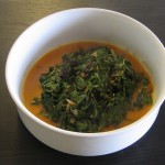 Swiss Chard with Indian Lime Pickle